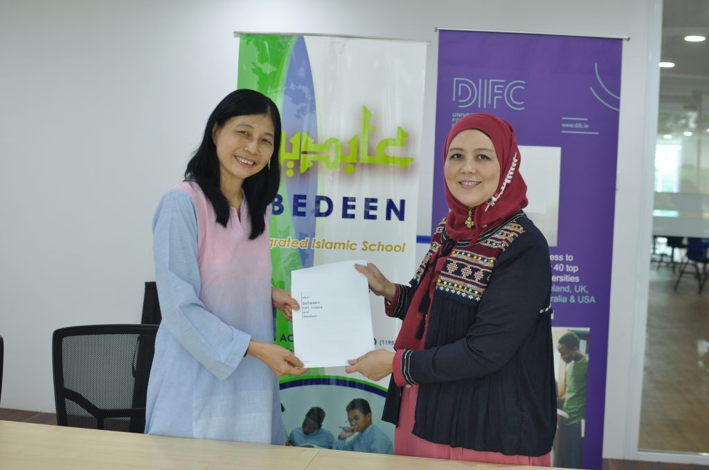 DIFC partners with Abedeen Academy in Malaysia